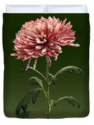 Chrysanthemum Shelbers Duvet Cover