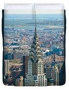 Chrysler Building - Nyc Duvet Cover