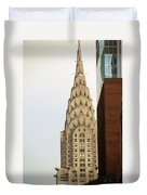 Chrysler Building Duvet Cover