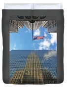 Chrysler Building Reflections Vertical 1 Duvet Cover