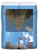 Chrysler Building Reflections Vertical 2 Duvet Cover