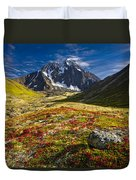 Chugach Autumn Duvet Cover