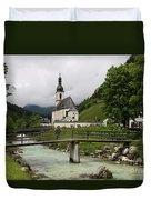 Church - Pfarrkirche St. Sebastian Duvet Cover