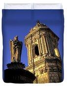 Church Arequipa Peru Duvet Cover