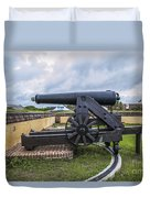 Church At Fort Moultrie Duvet Cover