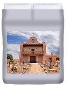 Church At San Ildefonso Duvet Cover