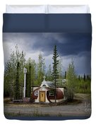 Church Beaver Creek Yukon Duvet Cover