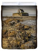 Church By The Rocks Duvet Cover