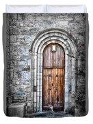 Church Door Killala Ireland Duvet Cover