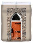 Church Door Duvet Cover