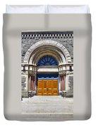 Church Doors Duvet Cover