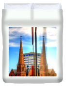Church Downtown Denver 5074 Duvet Cover
