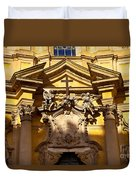 Church Facade Duvet Cover