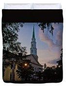Church In Savannah Duvet Cover