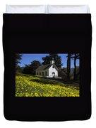 Church In The Clover Duvet Cover