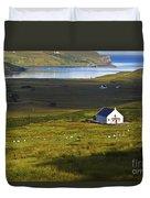 Church In The Glen Duvet Cover