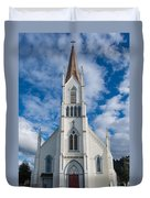 Church Of Assumption Duvet Cover