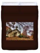 Church Of Autumn Duvet Cover