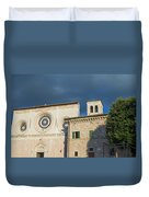 Church Of  Di San Pietro In Assisi Duvet Cover