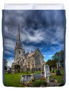 Church Of Marble Duvet Cover