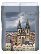 Church Of Our Lady Before Tyn - Prague Duvet Cover