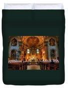 Church Of Saint Agnes Duvet Cover