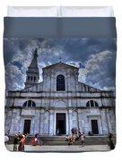 Church Of St. Euphemia Duvet Cover