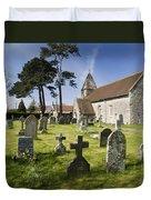 Church Of St John The Evangelist - Kenn - North Somerset Duvet Cover