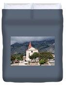 Church Of St.mark Makarska Duvet Cover