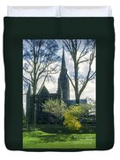Church Of The Blessed Mary Duvet Cover