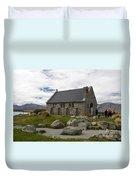 Church Of The Good Shepherd Lake Tekapo New Zealand Duvet Cover