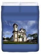 Church Ouro Preto Brazil 5 Duvet Cover
