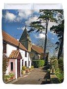 Church Path - Kenn - Somerset Duvet Cover