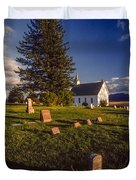 Church Potlatch Idaho 1 Duvet Cover
