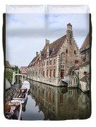 Church Reflection Duvet Cover
