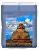 Church Rock Duvet Cover by Robert Bales
