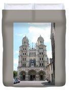 Church Saint Michel - Dijon Duvet Cover