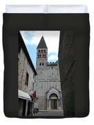 Church St. Philibert - Tournus Duvet Cover