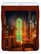 Church Vestibule Duvet Cover