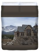 Church With A View Duvet Cover