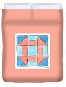 Churn Dash Block Duvet Cover