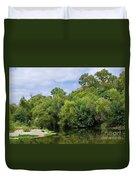 Cibolo Creek  Duvet Cover