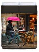 Ciclista - Milano Duvet Cover