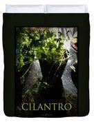 Cilantro Duvet Cover