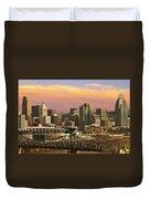 Cincinnati Over The Bridge Duvet Cover