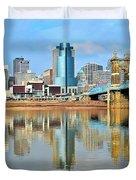 Cincinnati Reflects Duvet Cover