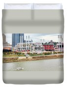 Cincinnati Riverfront 9870 Duvet Cover
