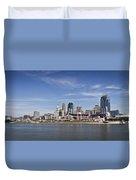 Cincinnati, Ohio Panorama Duvet Cover