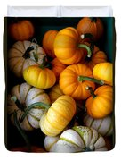Cinderella Pumpkin Pile Duvet Cover by Kerri Mortenson