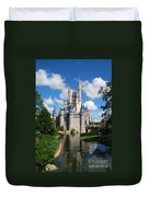 Cinderellas  Castle Duvet Cover